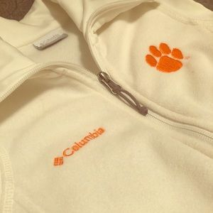 Ladies Clemson Columbia vest